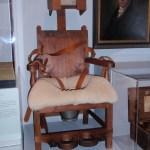 Treatment Chair, Mental Hospital, Williamsburg