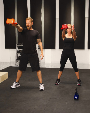 Bob Harper Kettle Bell Workout