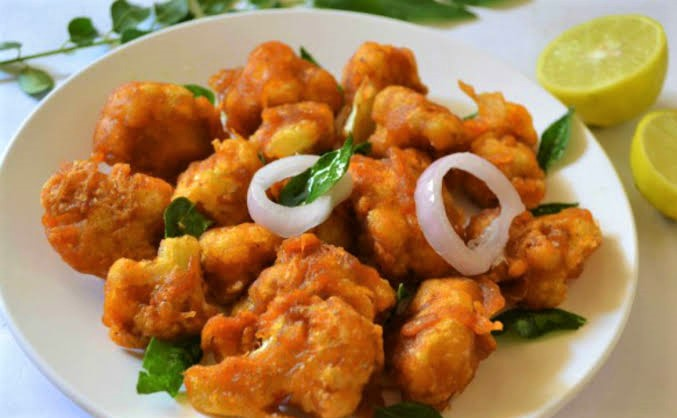 Caulifower pakora