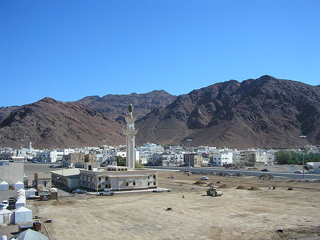 Uhud mountain in Medinah Saudi arabia