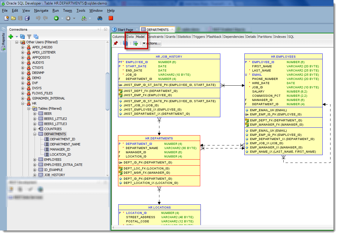 oracle sql developer entity relationship diagram oil burner parts how to generate an erd for selected tables in