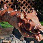 Pig on Spit 1