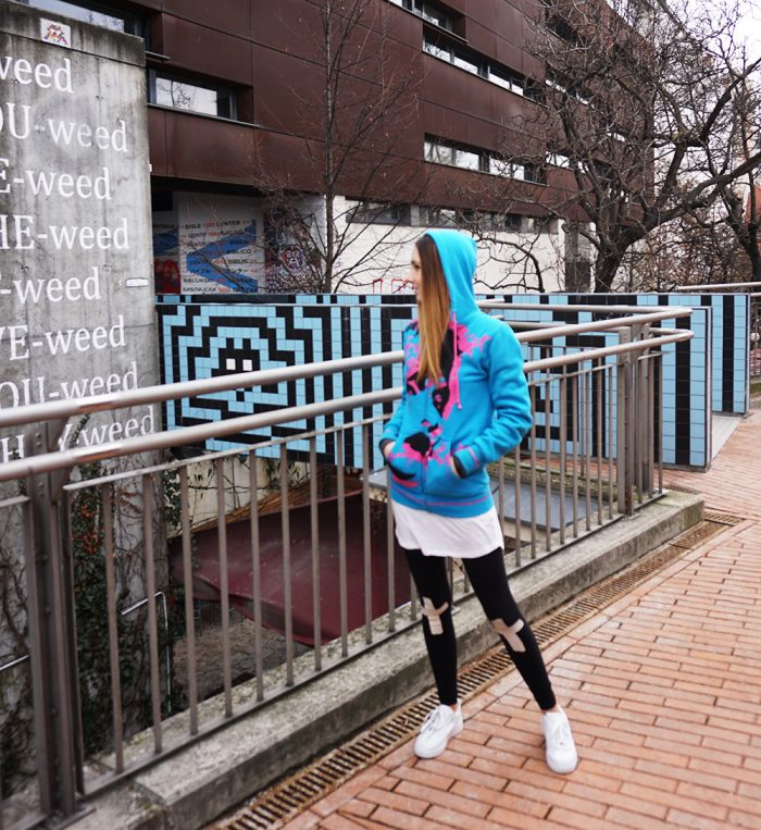 Street art meets fashion | Outfit | that kind of style