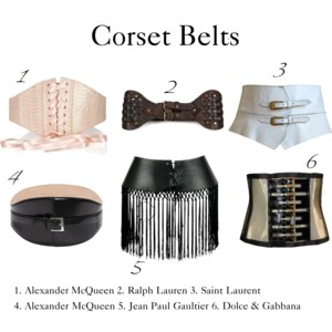 From fetish to fashion – corset belts