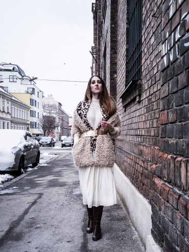Shades of beige – Winter, I'm done with you. Spring wardrobe in the snow | that kind of style