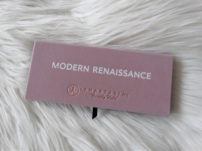 review ABH modern renaissance palette