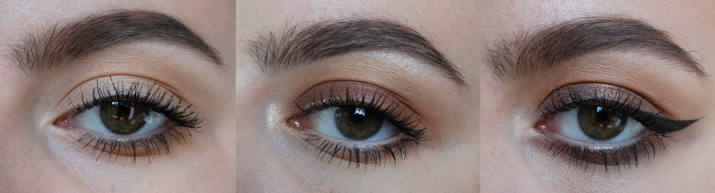Urban Decay Naked Heat 3 looks 1 palette