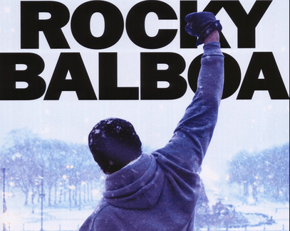 That Moment In Rocky Balboa 2006 Keep Moving Forward