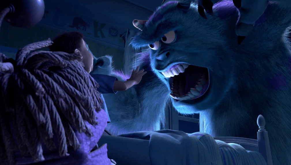 That Moment In Monsters Inc When Boo Sees The Other Sully That Moment In