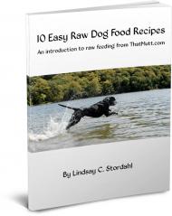 Raw dog food Ebook