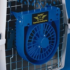 Fan to keep dogs cool