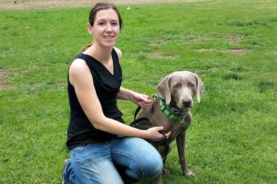I wish vet receptionists would stay calm around my dog