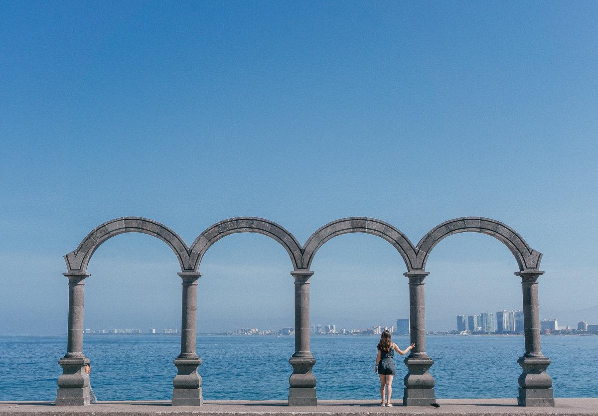 Los Arcos on the Puerto Vallarta Boardwalk