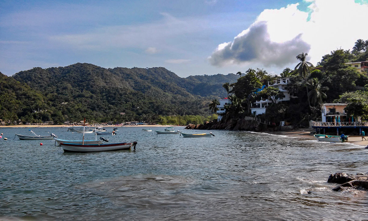 Yelapa, Mexico fishing village
