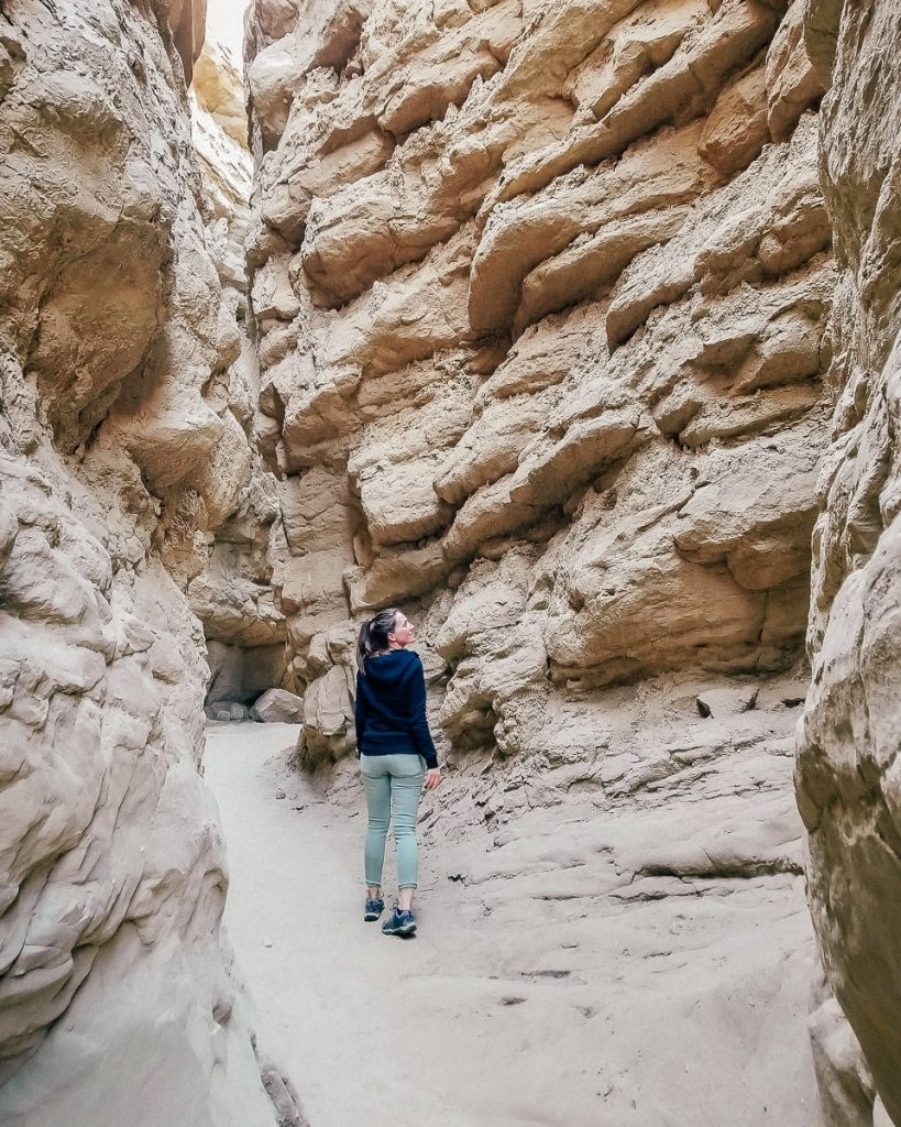 The Slot canyon in Anza-Borrego Desert State Park