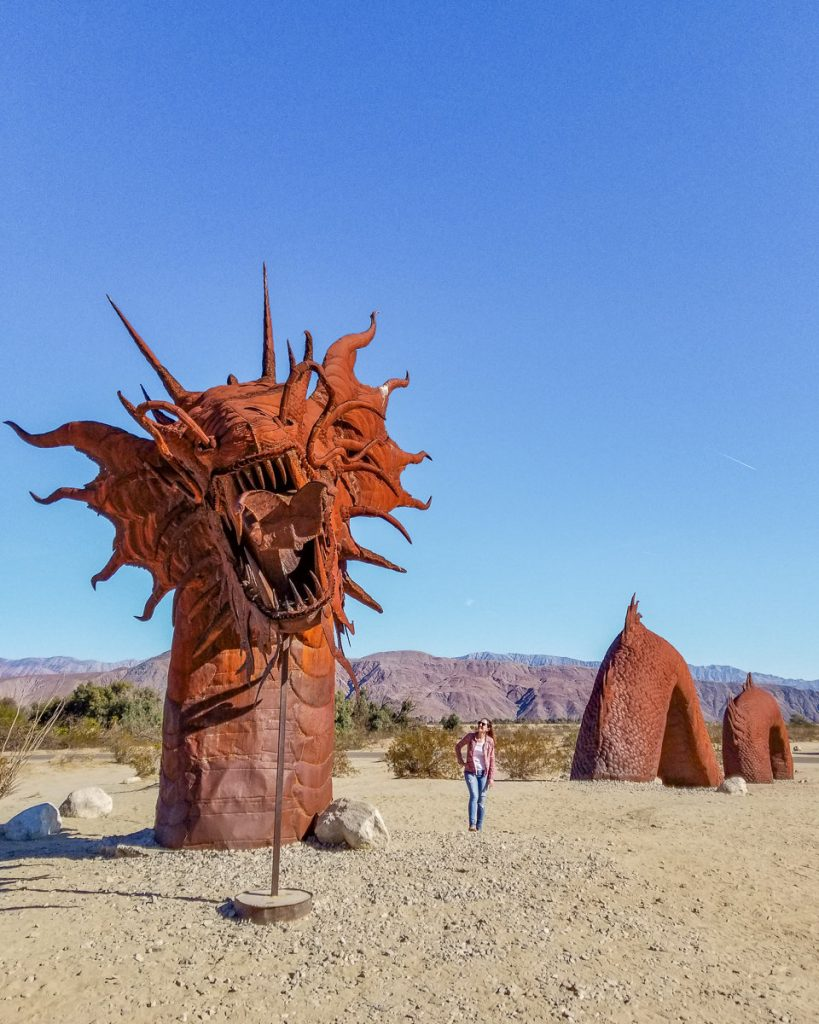 The Galleta Meadows Metal Sculptures