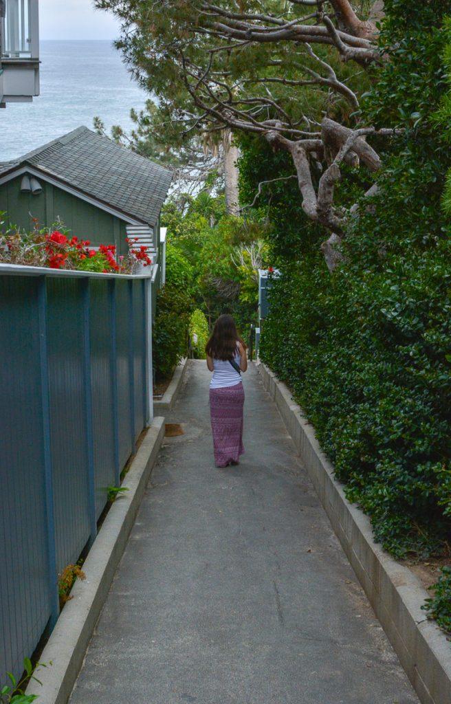 Pathway to Victoria Beach