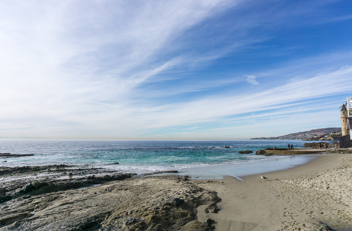 Victoria Beach in Laguna Beach, California