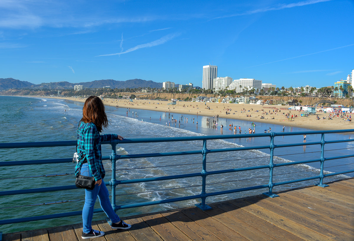 View from the Santa Monica Pier