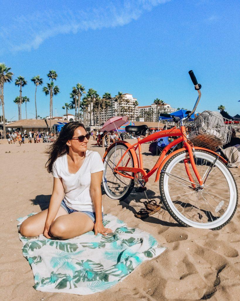 Beach day in Huntington Beach