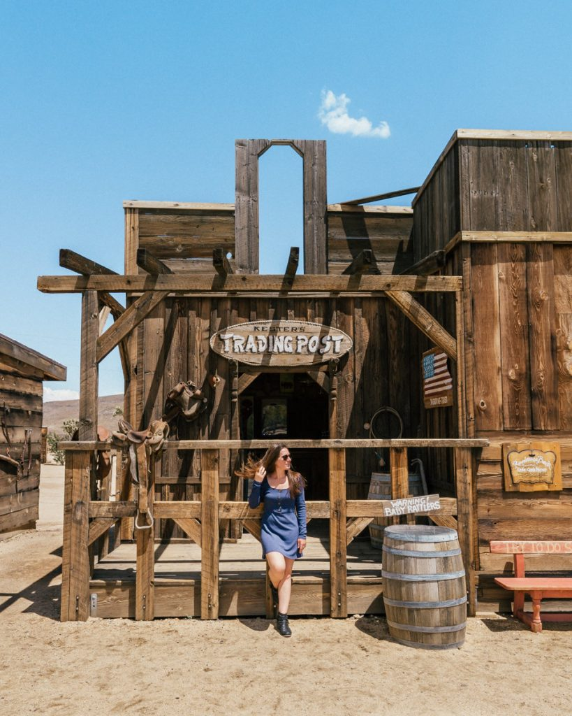 The wild west town called Pioneertown