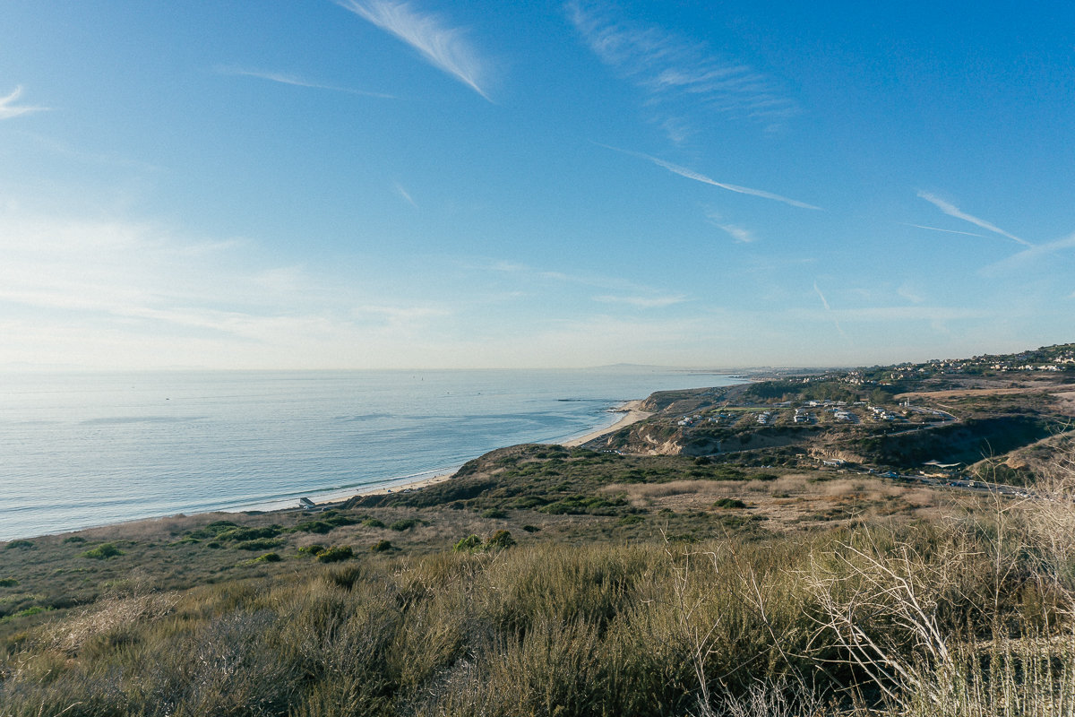 Easy Hikes in Orange County at Crystal Cove State Park