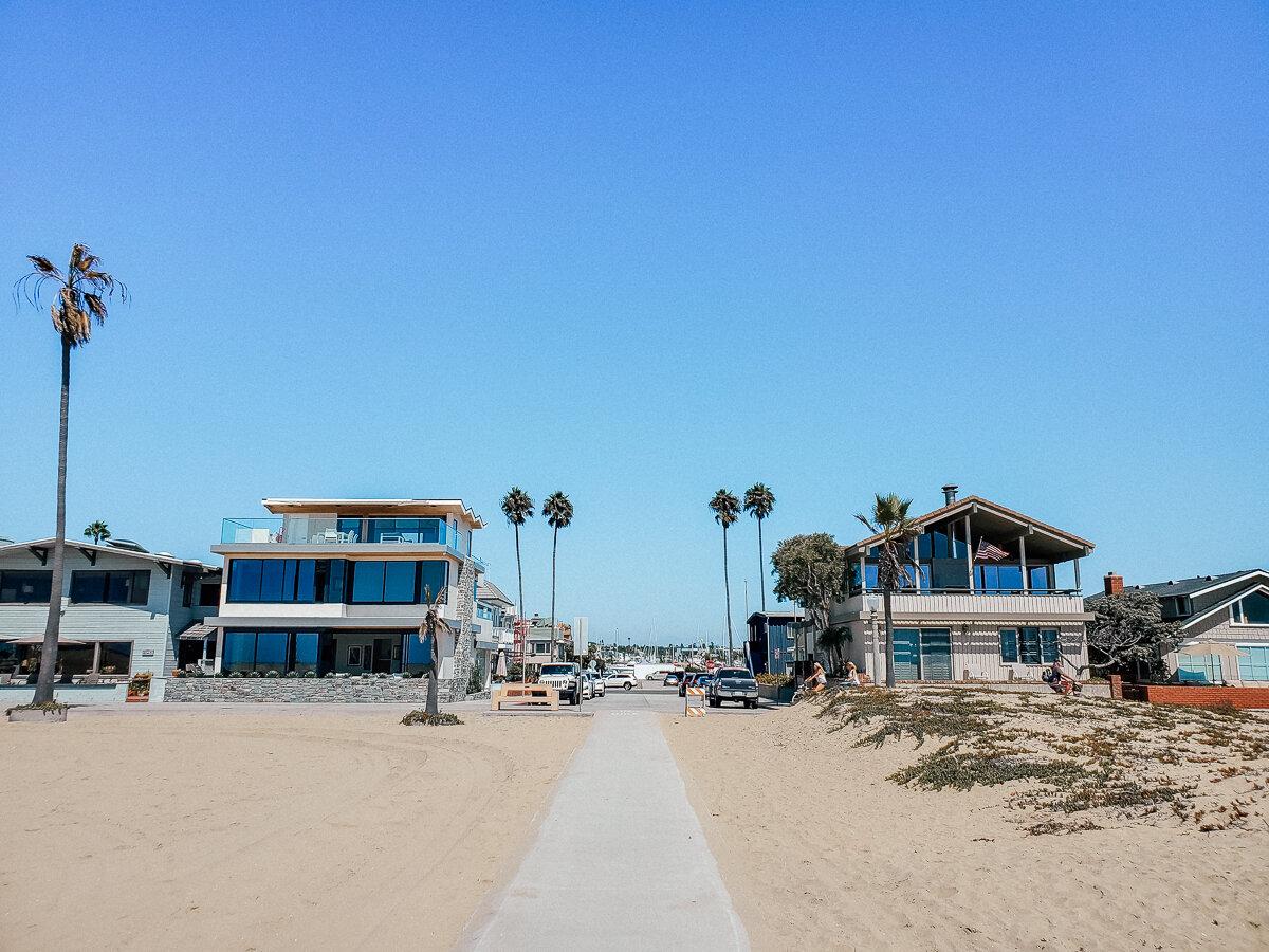 Pacific Coast Highway stops in Orange County - Balboa Peninsula