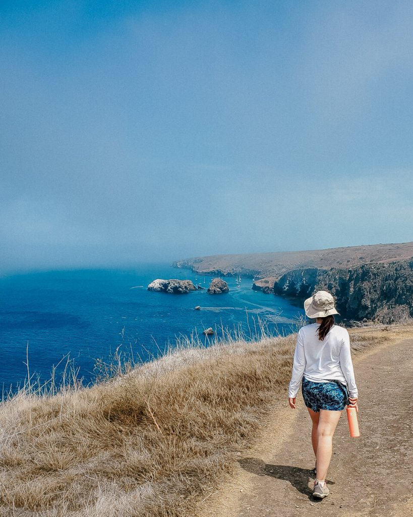 Hiking Cavern Point Loop at Channel Islands National Park
