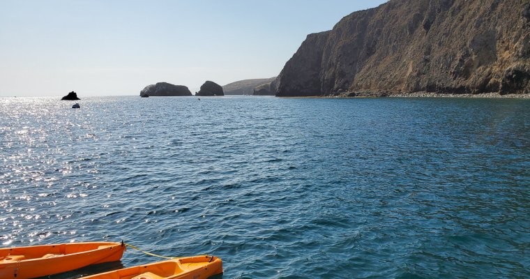 Channel Islands Kayaking & Day Trip Itinerary