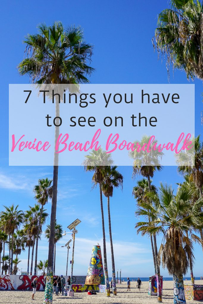The Venice Beach Boardwalk is such a funky place that absolutely cannot be missed during your trip to Southern California! Here are 7 Free Things you can't miss!