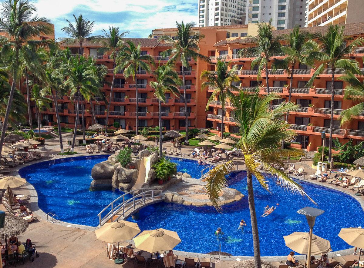 Villa del Palmar Resort in the Hotel Zone of Puerto Vallarta, Mexico