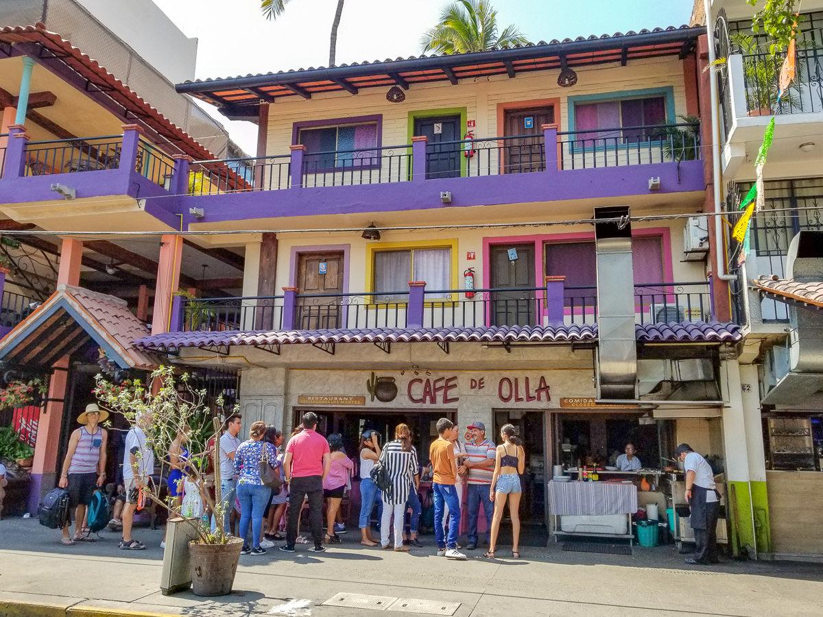 Cafe de Olla restaurant in Puerto Vallarta