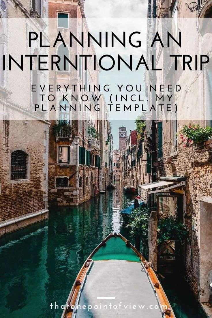 Travel Smarter My International Travel Planning Process   That ...