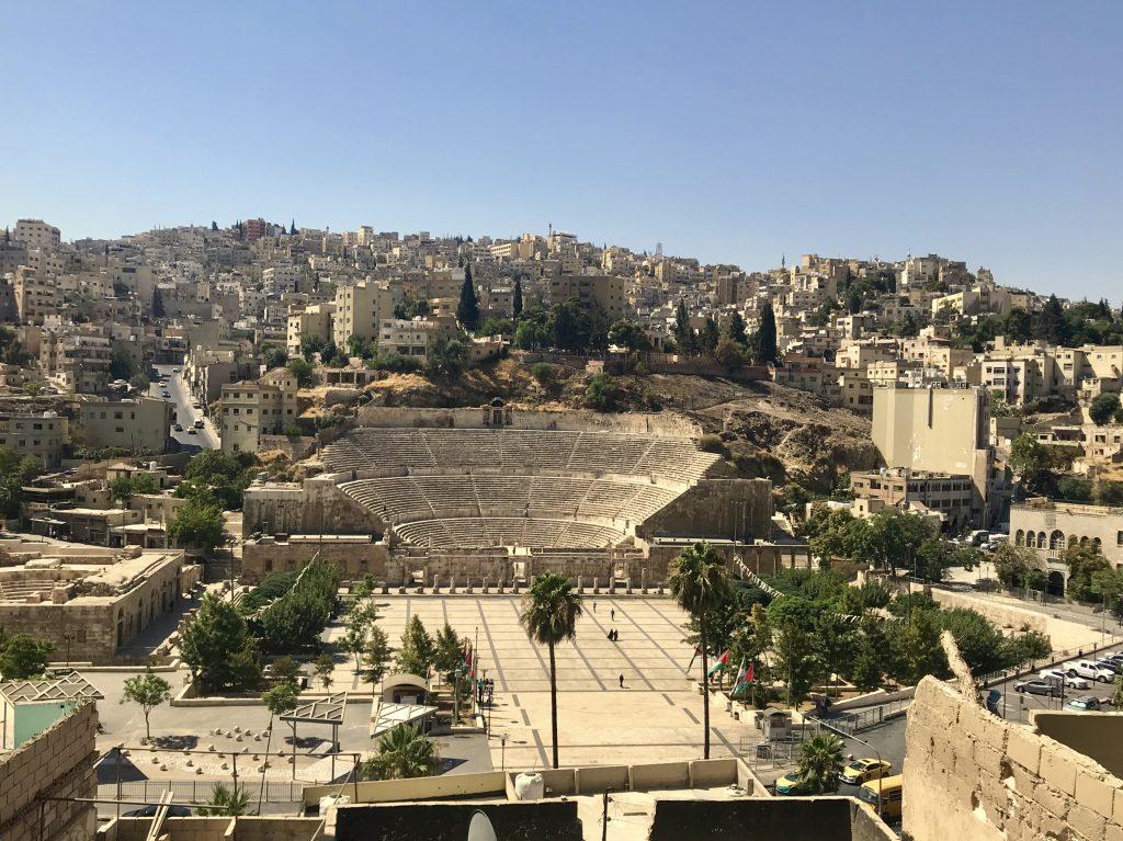 Roman Theathre, Amman Jordanië