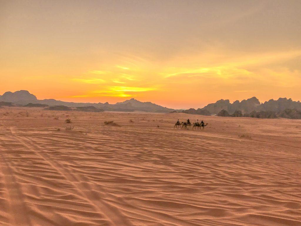 Reisroute Jordanië en Israël: Wadi Rum