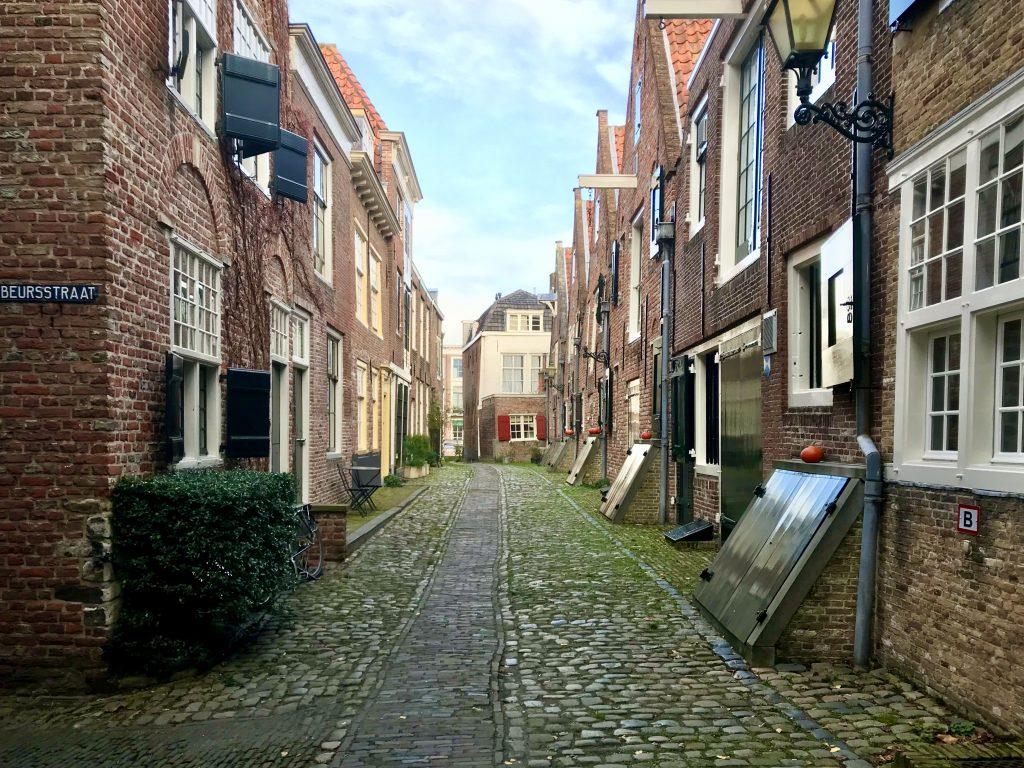 In november gingen we naar Middelburg, Zeeland
