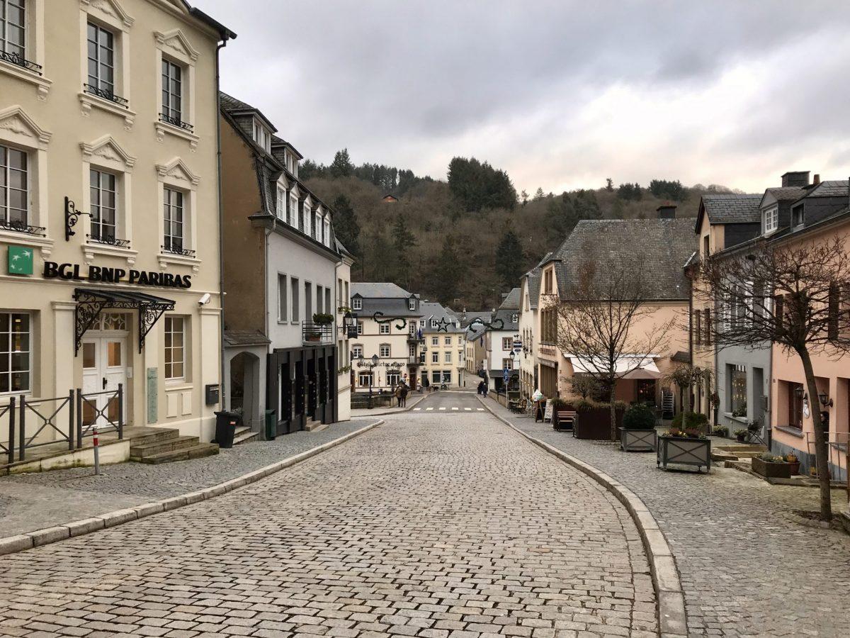 Reizen in Europa: Vianden, Luxemburg