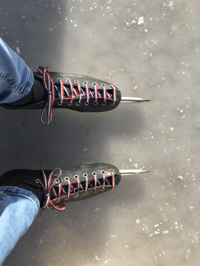 februari 2021 - Janet op de schaatsen