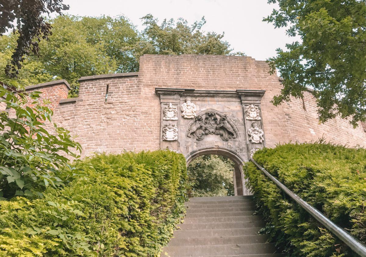 de Burcht van Leiden, Nederland 1