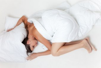 Could sleeping naked be the key to a good night's sleep?