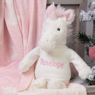 Personalised Jellycat Bashful Unicorn Large Soft Toy