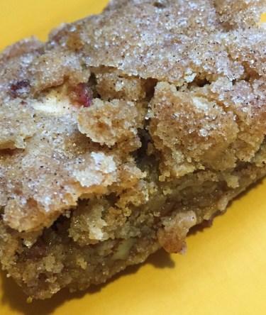 Raw apple cake, so yummy!