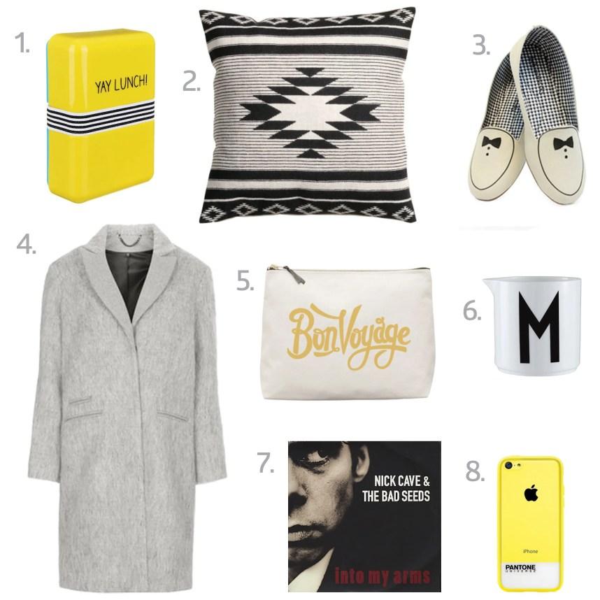 shopping wishlist for october