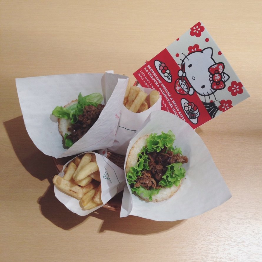 INGRIDESIGN EXPO milan 2015 japanese riceburger