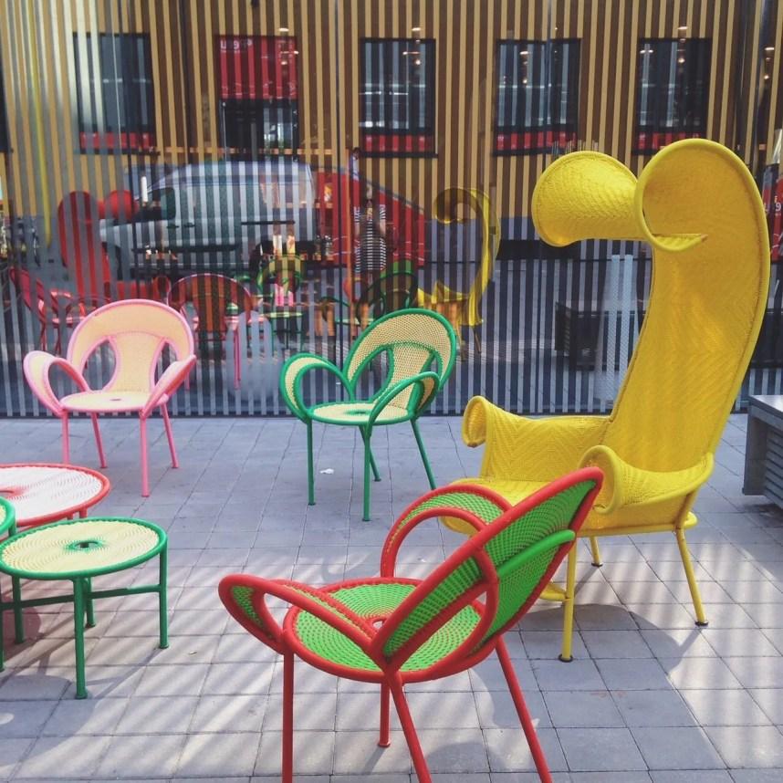 INGRIDESIGN tortona & navigli MUDEC outdoor chairs