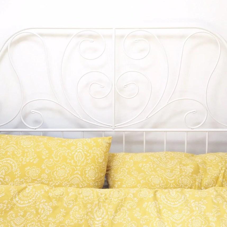 my scandinavian home_bed_yellow