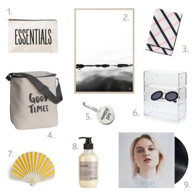 Summer WISHLIST scandinavian products