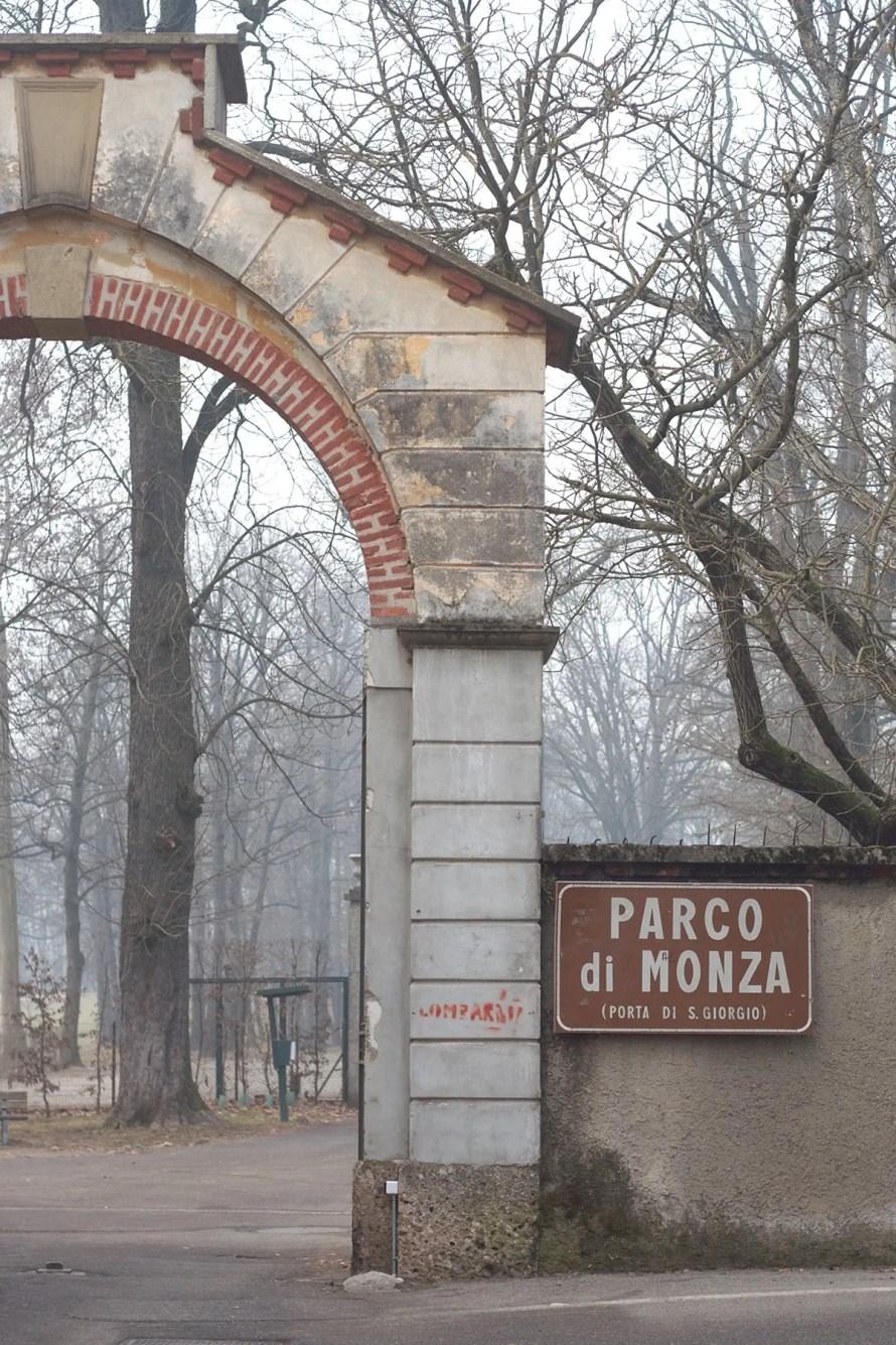 monza park italy outdoor hygge entrance