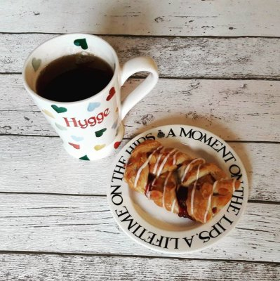scandinavian feeling hygge coffee pastry cozy