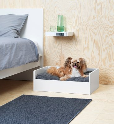 ikea lurvig pet bed dog